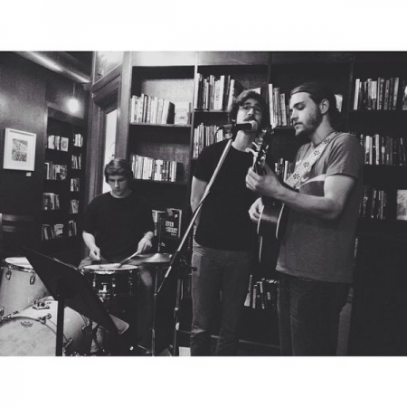 Playing at Vice Coffee in Philadelphia, PA