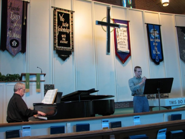 Recital with a great mentor of mine: Dr. William A. Phemister. 2007