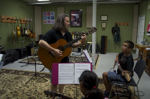 'Just Beginners' Guitar Class