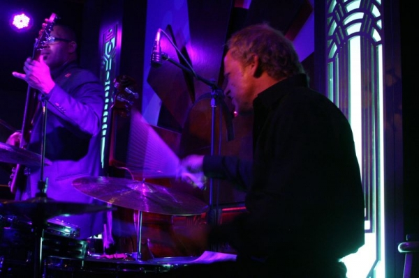 Playing as sideman-with Trevor Ware-bass (pictured)