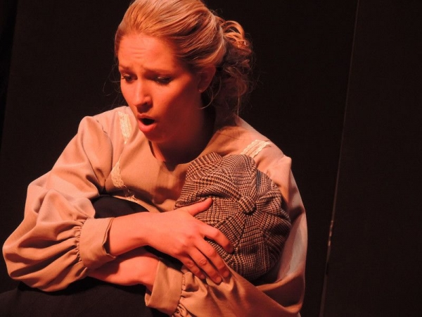 Performing the lead role of the Governess from Benjamin Britten's The Turn of the Screw