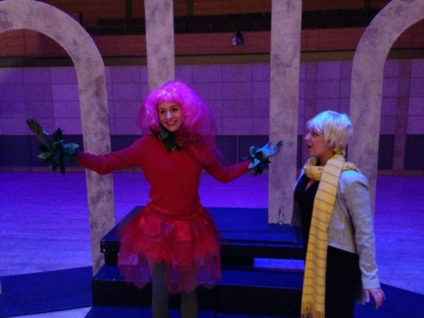 Performing the Rose in Portman's The Little Prince at San Francisco Conservatory.