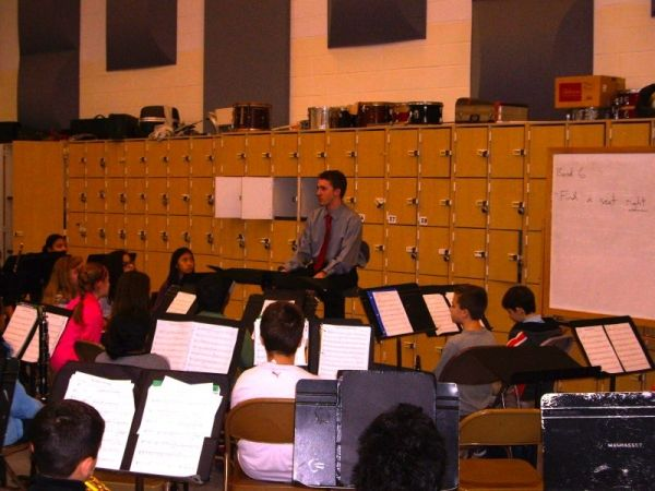 Composer in Residence at Candlewood Middle School, 2012