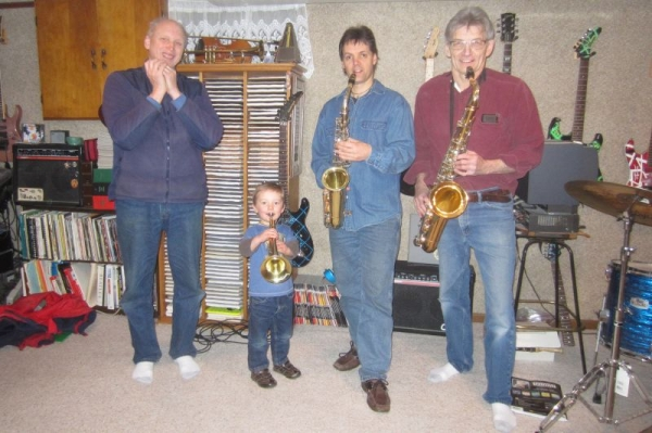 Trumpet / Saxophone lessons for you or your child.  