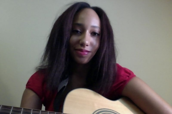 Me with my acoustic guitar