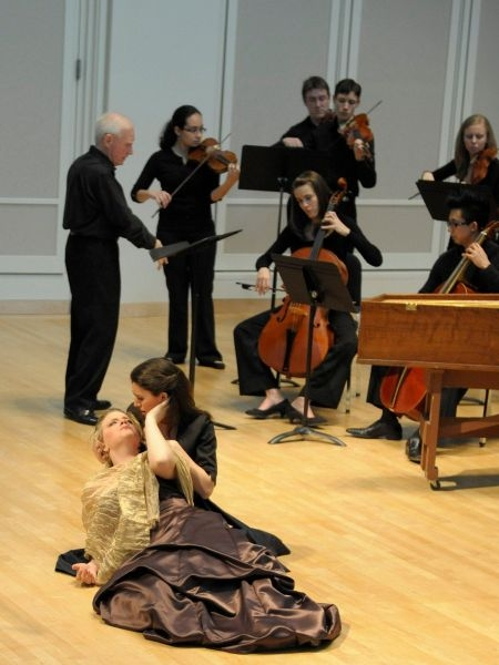 """""""When I am laid in earth"""", Dido and Aeneas with IU Baroque Orchestra, 2011"""