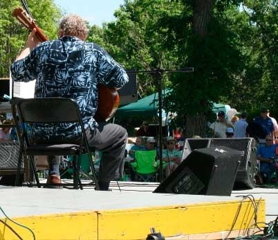 Performing at the Minot Integrity Jazz Festival