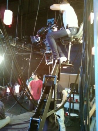 filming a sci-fi on a jib with RED1