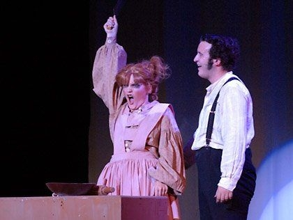 Sweeney Todd: National Thespians Conference. Musical Theatre International and Steven Sondheim.