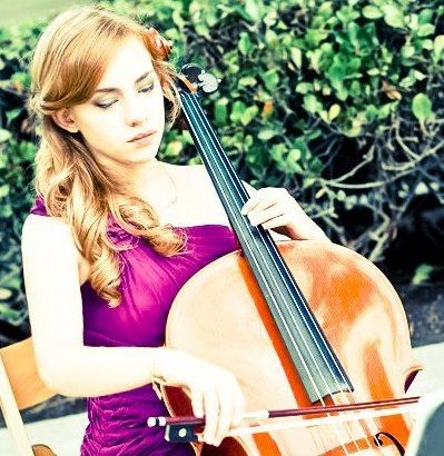 This is me playing cello for my best friend's wedding :)