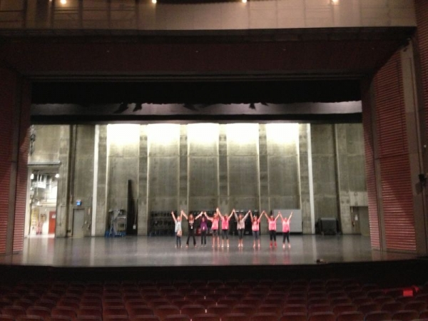 Adv. Choir at the Lied Center in Lawrence