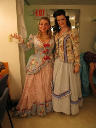 Performed title role Fiordiligi in Cosi Fan Tutte