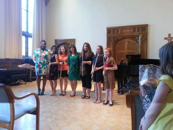 With my awesome students at our annual studio recital in April, 2013.