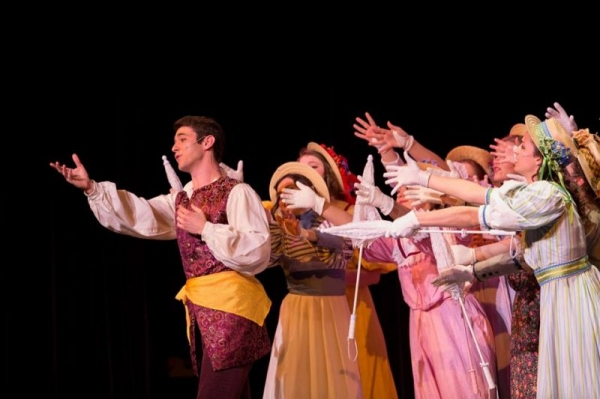 Frederic in The Pirates of Penzance at Penn State University. Spring 2014.