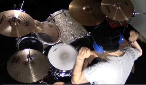 Recording a Drum Cover