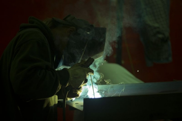 Spending a day at Quality Mechanicals in Cincinnati, OH was a wonderful photo shooting opportunity. These welders were amazing.