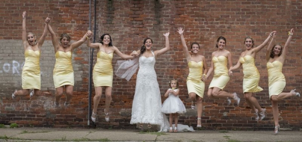 Shooting photos for weddings is a blast.