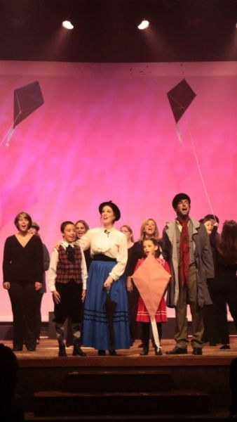 "Playing Mary in ""Mary Poppins"" at The Donelson Fellowship"