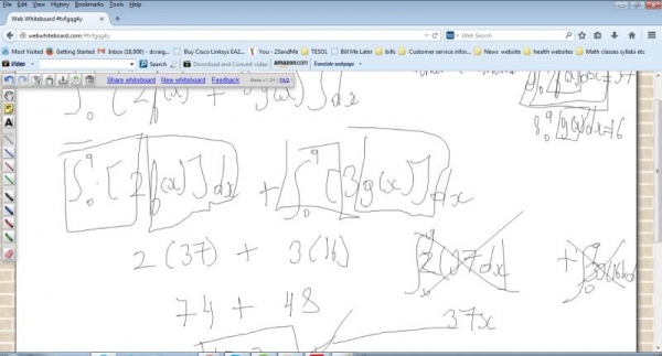 Intuitive whiteboard (AP calculus session #13)
