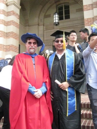 with UCLA Professor Peter Nonacs
