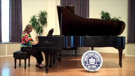 Performing on Vladimir Horowitz's piano at 2012 Performathon sponsored by Jacob's Music for Ronald McDonald House.