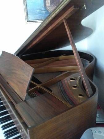 THE PIANO, a recently rebuilt 1912 American Baby Grand!
