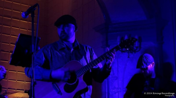 Performing at Corinthian Hall in Melrose, MA 11/1/14