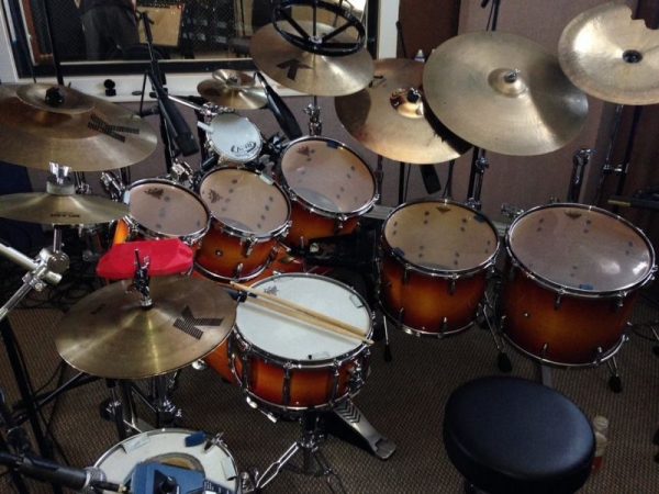 Some of my drums...