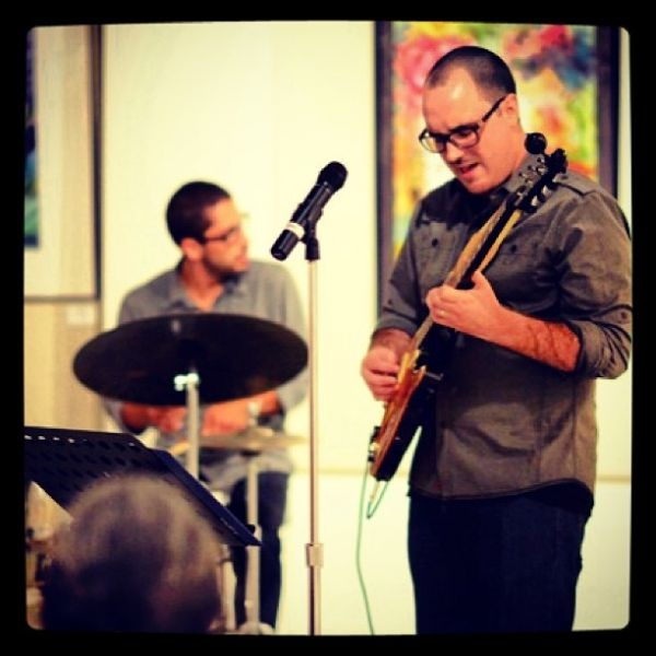 Performing at the Nova Southeastern University Summer Jazz Series, Ft. Lauderdale, FL.