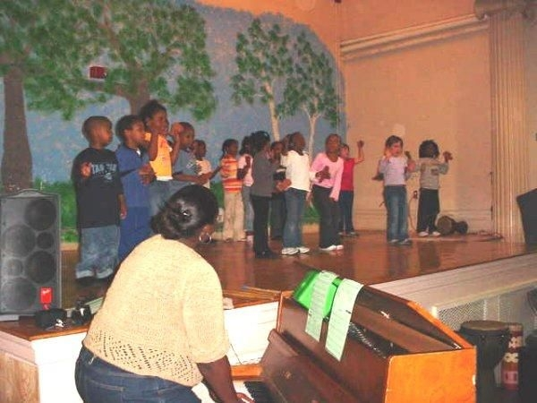 Spring Arts Festival at Young Achievers Elementary School in Jamaica Plain, MA