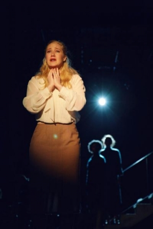 On stage at The Moscow Art Theatre