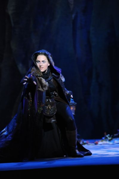 As the Sandman in Opera San Jose's 2013 Production of Hansel and Gretel.
