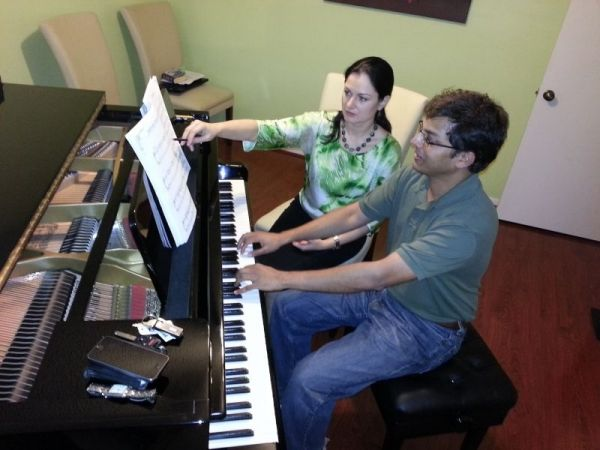 There is no age limit to start the piano lessons.