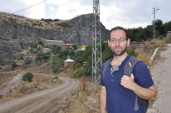 In a formerly Greek speaking village of Turkey. August, 2014