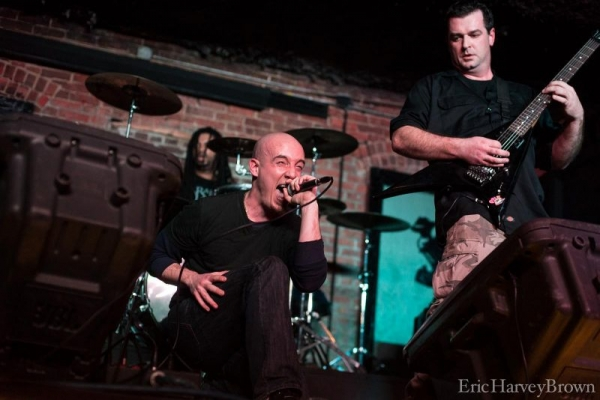 Performing with Saint Avarice in NYC