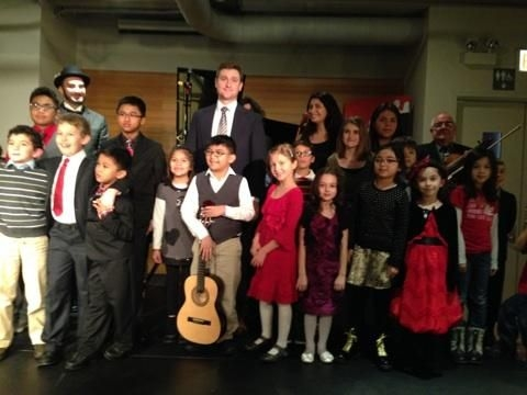 Couldn't fit everyone in the photo, recital took 60 minutes for everyone. Very successful Winter recital.