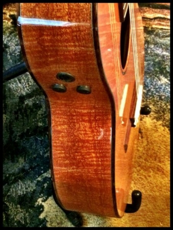 Perfect for playing weddings and for beautiful classical music, this Martin crossover guitar is one of my favorites.