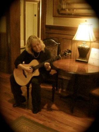Playing in different venues is something I really enjoy.  Here I'm performing at the Jekyll Island Club on the Georgia coast.