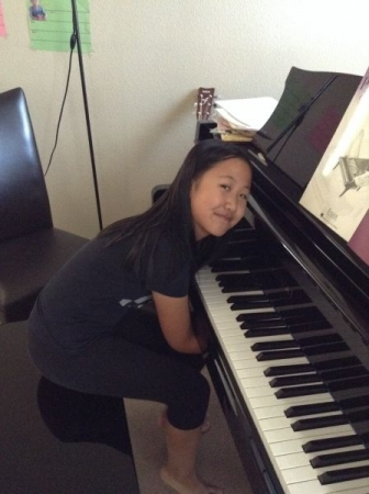 I am getting more and more passionate of piano!