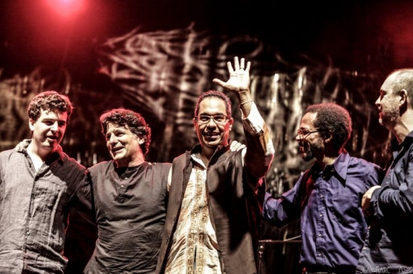 With John Patitucci and Danilo Perez at the Rio Loco festival