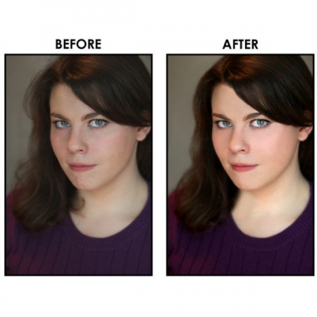 Photo Touchups in Photoshop