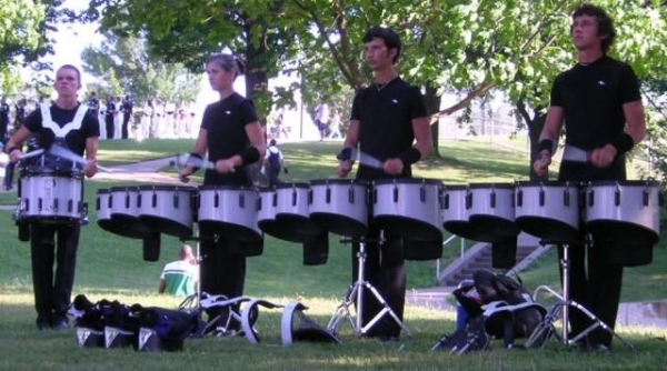 Back in 2006 when I marched at Memphis Sound Drum & Bugle Corps