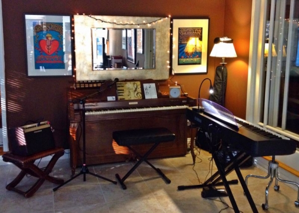 Studio equipped for all kinds of music-making