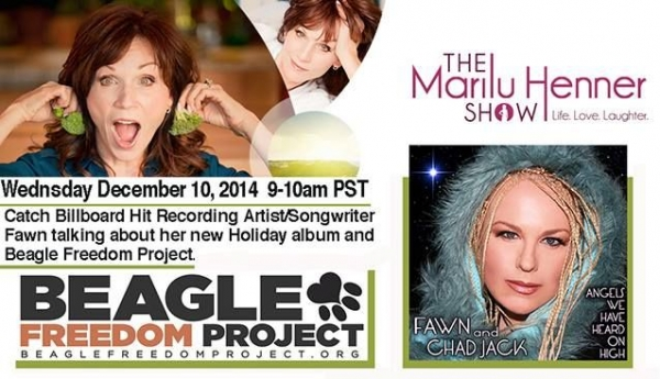 My appearance on The Marilu Henner Show