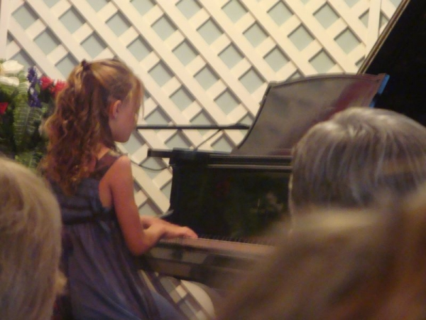 Recitals, Master Classes all performance opportunities make for better musicians!