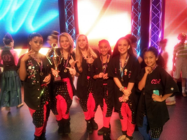 Took my dancers to Showstoppers dance competition and they came home with 1st place platinum!!!!