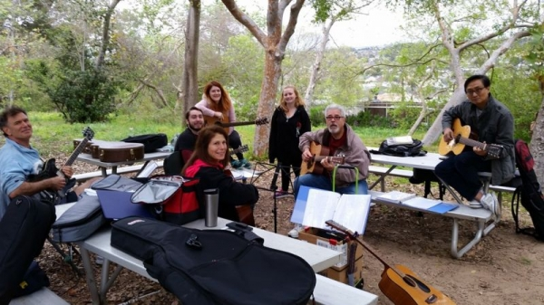 jammin' with friends in South Bay