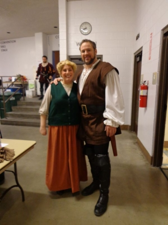 This is from WGO's production of Guillame Tell (2014).  This is me and William Tell.