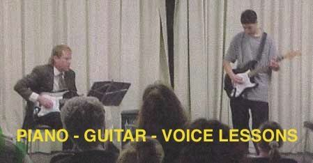 A student performs on guitar! PIANO - GUITAR - VOICE LESSONS In Your Home Via WebCam or.... in the Music Studio (Coronado)