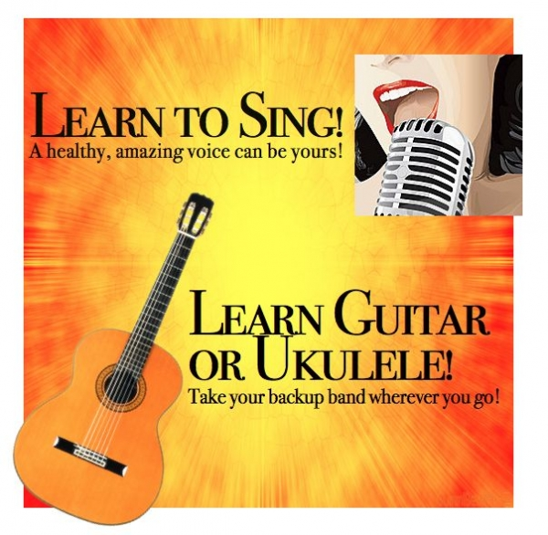 Learn to play and sing! Instrument rentals available!